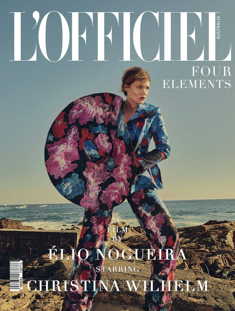 l'officiel australia cover july august 2020 christina willhelm