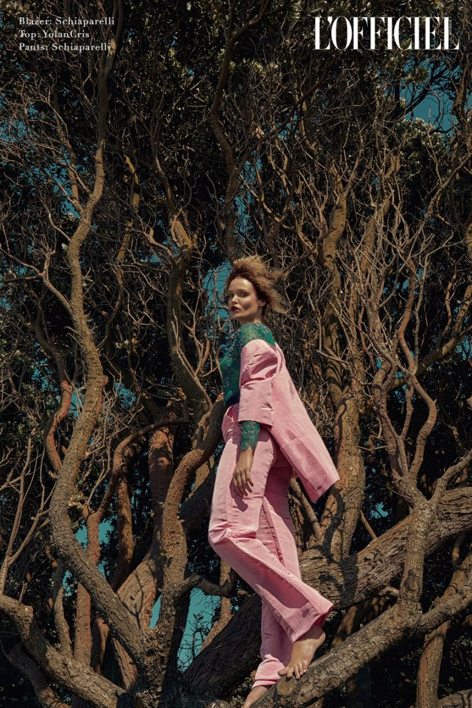 lofficiel australia fashion editorial four elements